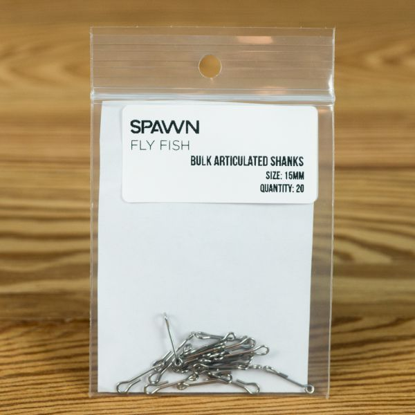 Articulated Shanks - 15 mm - 20 Pack - Spawn Fly Fish - 2