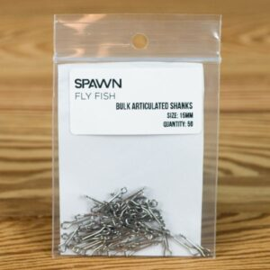 Articulated Shanks - 15 mm - 50 Pack - Spawn Fly Fish - 2