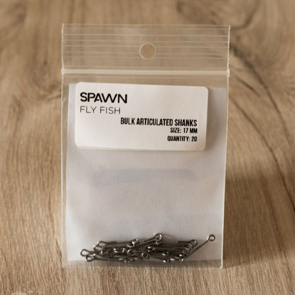 Articulated Shanks - 17 mm - 20 Pack - Spawn Fly Fish - 2