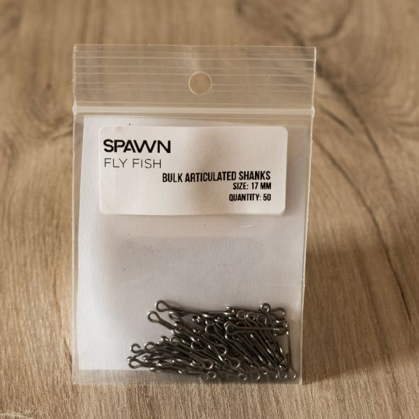 Articulated Shanks - 17 mm - 50 Pack - Spawn Fly Fish - 2
