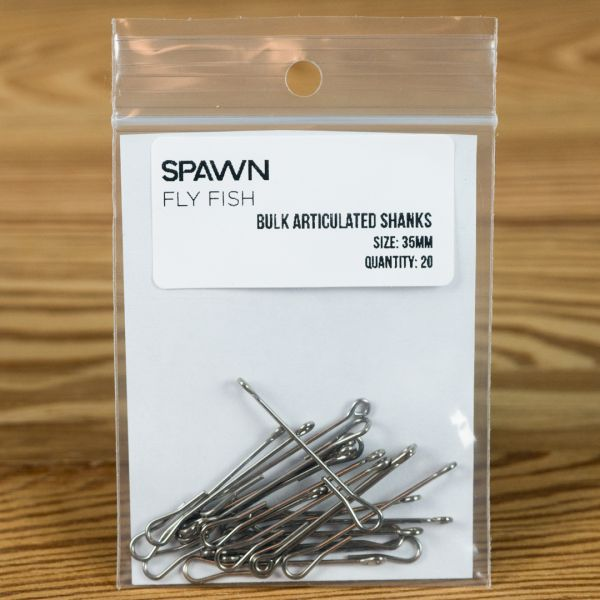 Articulated Shanks - 35 mm - 20 Pack - Spawn Fly Fish - 2