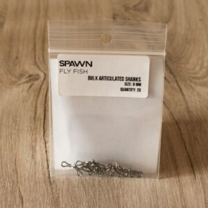 Articulated Shanks - 9 mm - 20 Pack - Spawn Fly Fish - 2