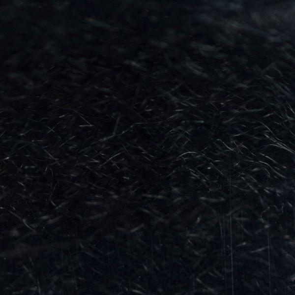 Strung Fuzzy Fiber  - Black - Hedron