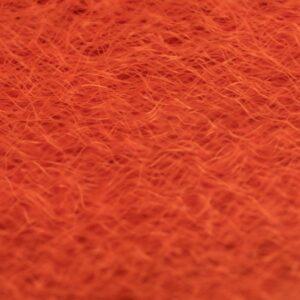 Strung Fuzzy Fiber  - Orange - Hedron
