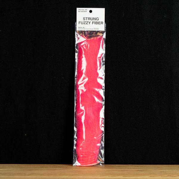 Strung Fuzzy Fiber  - Hot Pink - Hedron - 2