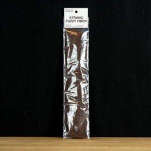 Strung Fuzzy Fiber  - Brown - Hedron - 2