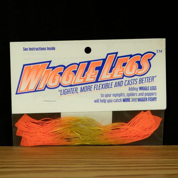 Wiggle Legs - Gold / Hot Orange - Hedron - 2