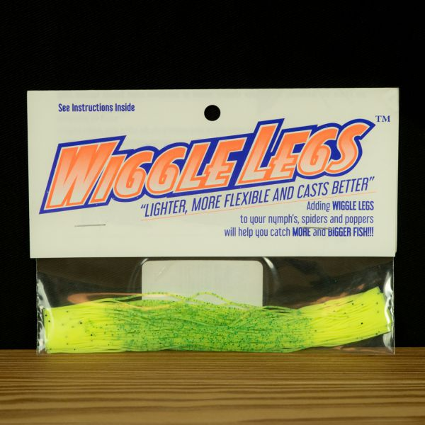 Wiggle Legs - Chartreuse / Hot Chartreuse - Hedron - 2