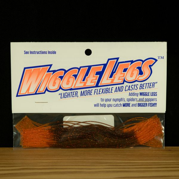 Wiggle Legs - Brown / Orange - Hedron - 2
