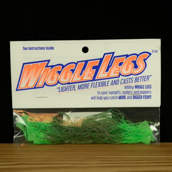 Wiggle Legs - Olive / Lime - Hedron - 2