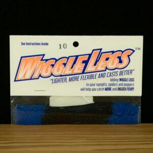 Wiggle Legs - Black / Blue - Hedron - 2