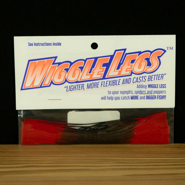 Wiggle Legs - Black / Red - Hedron - 2
