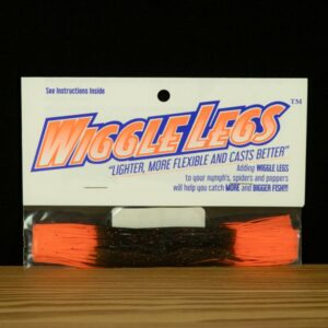 Wiggle Legs - Black / Hot Orange - Hedron - 2