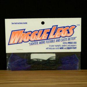 Wiggle Legs - Black / Hot Purple - Hedron - 2