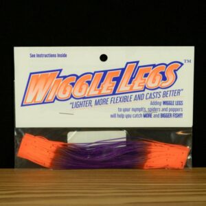 Wiggle Legs - Purple / Hot Orange - Hedron - 2