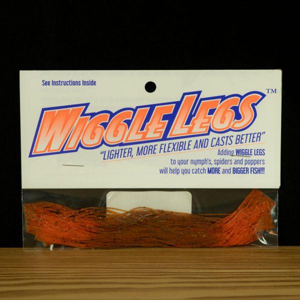 Wiggle Legs - Pumpkin / Orange - Hedron - 2