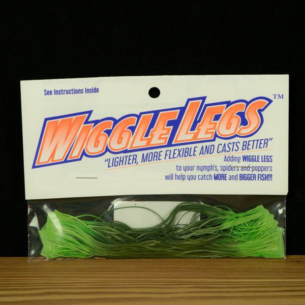 Wiggle Legs - Avocado / Light Green - Hedron - 2
