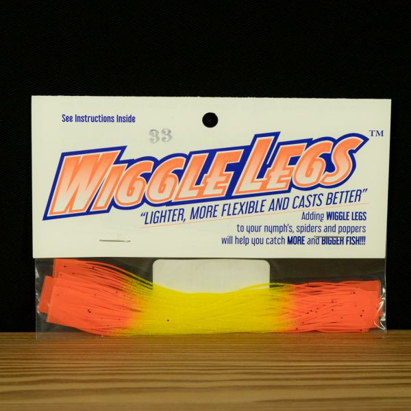 Wiggle Legs - Yellow / Hot Orange - Hedron - 2