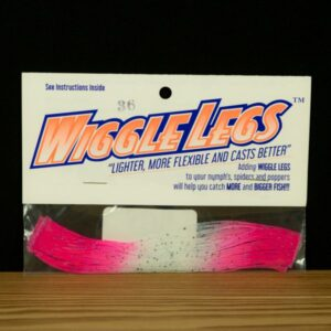 Wiggle Legs - Clear / Hot Pink - Hedron - 2