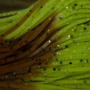 Wiggle Legs - Pumpkin / Chartreuse - Hedron
