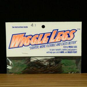 Wiggle Legs - Black / Olive - Hedron - 2