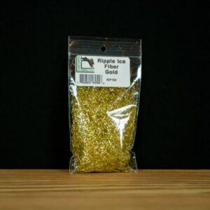 Ripple Ice Fiber - Gold - Hareline Dubbin - 2