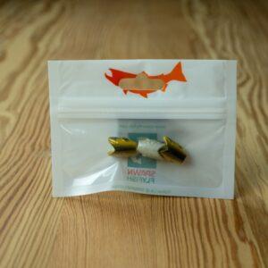 Crash Test Yummy - Gold / Black - 3 Pack - Spawn Fly Fish - 2