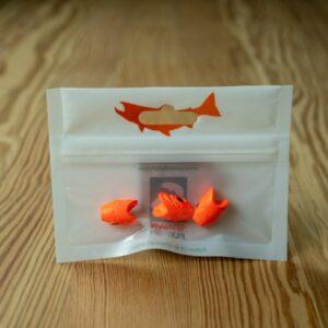 Crash Test Yummy - Orange Egg - 3 Pack - Spawn Fly Fish - 2