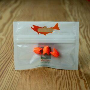 Sniper - Orange Egg - 3 Pack - Spawn Fly Fish - 2