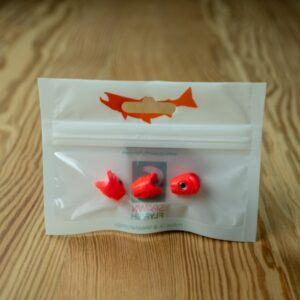 Sniper - Red Egg - 3 Pack - Spawn Fly Fish - 2